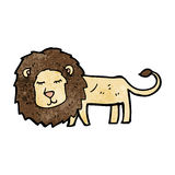 Cartoon lion Royalty Free Stock Image