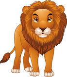 Cartoon lion character stock illustration