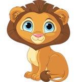Cartoon Lion royalty free illustration
