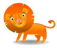 Cartoon Lion Stock Photo
