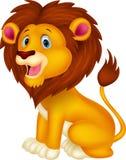Cartoon lion Stock Photography