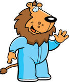 Cartoon Lion Pajamas Royalty Free Stock Images