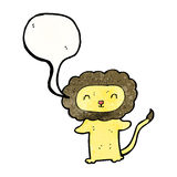Cartoon lion Royalty Free Stock Photos