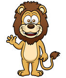 Cartoon lion Royalty Free Stock Photo