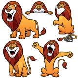 Cartoon Lion Royalty Free Stock Photo