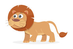 Cartoon Lion, vector Stock Images
