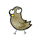 Cartoon little bird Royalty Free Stock Photo