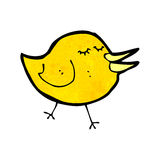 Cartoon little bird Stock Photo