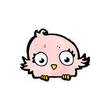 Cartoon little bird Stock Photography