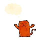 Cartoon little cat Royalty Free Stock Photos