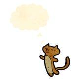 Cartoon little cat Royalty Free Stock Photo