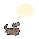 Cartoon little cat Stock Photo