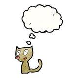 Cartoon little cat Stock Photos