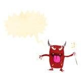 Cartoon little devil Royalty Free Stock Images