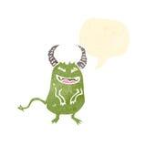 Cartoon little devil Stock Image