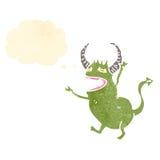 Cartoon little devil Stock Images