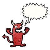 Cartoon little devil Royalty Free Stock Photo