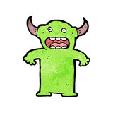 Cartoon little devil Royalty Free Stock Photo