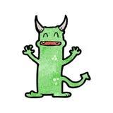 Cartoon little devil Stock Photography