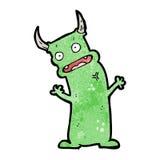 Cartoon little devil Royalty Free Stock Photos