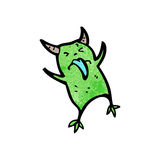 Cartoon little imp Royalty Free Stock Images