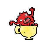 Cartoon little imp Royalty Free Stock Photography