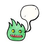 Cartoon little imp Stock Photo