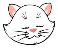 Cartoon little kitten Stock Photography