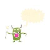 Cartoon little monster Stock Images