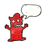 Cartoon little monster Stock Photos