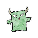 Cartoon little monster Royalty Free Stock Images