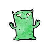 Cartoon little monster Royalty Free Stock Image