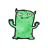 Cartoon little monster Royalty Free Stock Photo