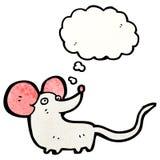 cartoon little mouse Stock Image