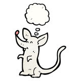 cartoon little mouse Stock Photography