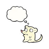 cartoon little mouse Stock Images