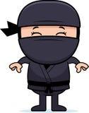 Cartoon Little Ninja Royalty Free Stock Photography