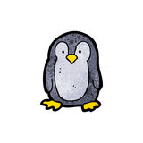 cartoon little penguin Stock Images