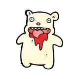 Cartoon little polar bear Royalty Free Stock Photo