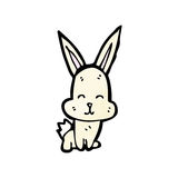 Cartoon little rabbit Stock Images