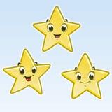 Cartoon Little Stars vector illustration