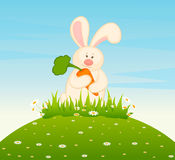 Cartoon Little Toy Bunny Royalty Free Stock Photos