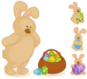 Cartoon little toy bunny Royalty Free Stock Photo