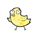 cartoon little yellow bird Stock Photography