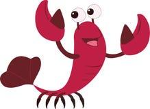 Cartoon Lobster Stock Photography