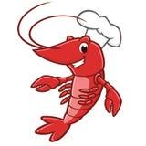 Cartoon Lobster stock illustration