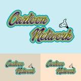 Cartoon logo designs royalty free illustration