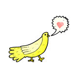 cartoon love bird Royalty Free Stock Photography