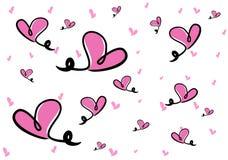 Cartoon love Stock Image