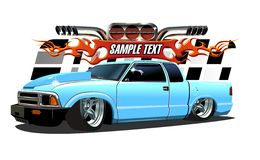 Cartoon Lowrider Stock Image